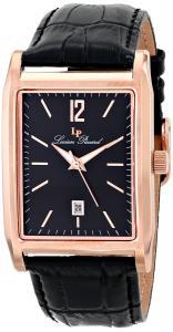 Lucien Piccard Men's LP-91085-RG-01 Taverna Analog Display Japanese Quartz Black Watch