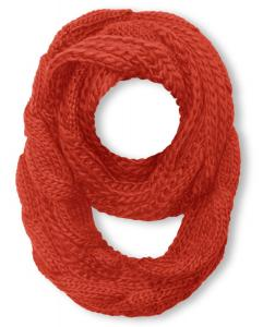 Peachcouture® Chunky Warm Hand Knitted Infinity Large Loop Scarf in Several Colors