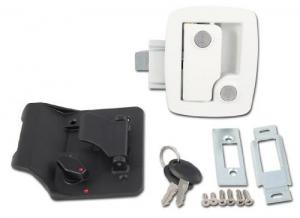 AP Products (013-534) White Trailer Lock with Key
