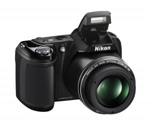 Nikon Coolpix L330 - 20.2 MP Digital Camera with 26x zoom 35mm NIKKOR VR lens and FULL HD 720p (Black)