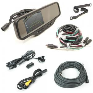 Rostra (250-8081B) Heavy Duty Rear View Mirror Camera System