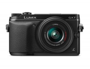 Panasonic LUMIX DMC-GX7KK Compact System Camera with 14-42 II Lens Kit (Black)