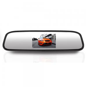 Pyle PLCM4370WIR Wireless Rear View Mirror Back-Up Camera Parking Assist System