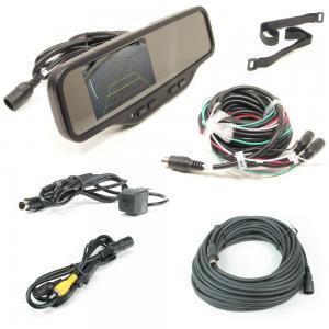 Rostra (250-8081) Heavy Duty Rear View Mirror Camera System