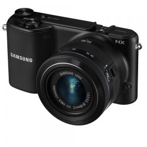 "Samsung NX2000 20.3MP CMOS Smart WiFi Compact Interchangeable Lens Digital Camera with 20-50mm Lens and 3.7"" Touch Screen LCD (Black) (OLD MODEL)"
