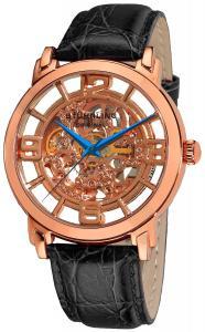 Stuhrling Original Men's 165B.334514 Classic Winchester Grand Automatic Skeleton Rose Tone Watch