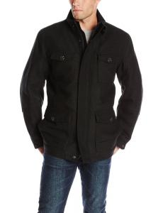 Marc New York by Andrew Marc Men's Travis Wool-Blend Military Jacket