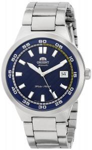 Orient Men's FER1W002D0 Brazen Analog Display Japanese Automatic Silver Watch