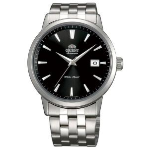 Orient ER27009B Men's Symphony Automatic Stainless Steel Black Dial Mechanical Watch