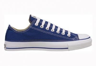 Converse Women's All Star Core Ox Sneaker (Navy 5.5 M)