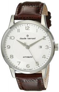 Claude Bernard Men's 80091 3 ABN Classic Automatic Analog Display Swiss Automatic Brown Watch