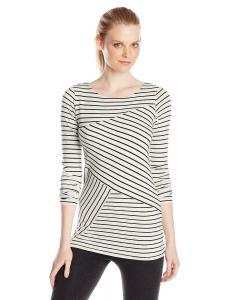 Calvin Klein Performance Women's Spliced Stripe Tunic