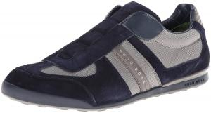 Hugo Boss Men's Akeen I Dark Grey Fashion Nylon Sneaker Shoes