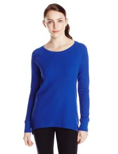 Calvin Klein Performance Women's Thermal Top with Back Zipper