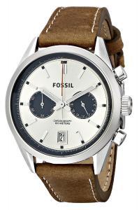 Fossil Men's CH2952 Del Rey Analog Display Analog Quartz Brown Watch
