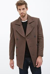 Áo khoác nam Wool-Blend Peacoat