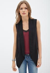 Áo nữ Sheer-Paneled Vest