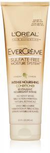 L'Oreal Paris EverCreme Sulfate-Free Moisture System Intense Nourishing Conditioner, 8.5 Fluid Ounce