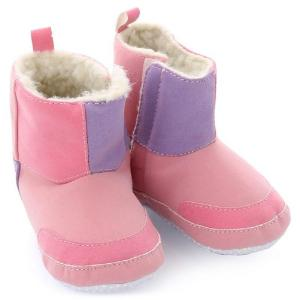 Luvable Friends Baby Faux Suede Winter Boots