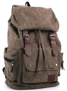 Ba lô AM Landen Canvas Backpack School Bag Travel Bag Avail. 5 Colors Ship From US