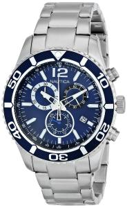 Đồng hồ Nautica Men's N16665G NST 09 Stainless Steel Watch