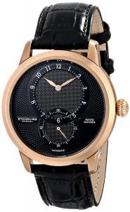 Đồng hồ Stuhrling Original Men's 766.03 Symphony Prominence Analog Display Automatic Self Wind Black Watch