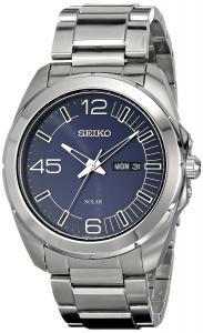 Đồng hồ Seiko Men's SNE337 Millennial Analog Display Japanese Quartz Silver Watch