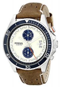 Đồng hồ Fossil Men's CH2951 Wakefield Analog Display Analog Quartz Brown Watch