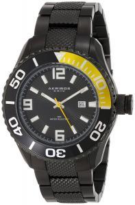 Đồng hồ Akribos XXIV Men's AK511BK Explorer Stainless Steel Large Diver's Watch