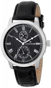 Đồng hồ Earnshaw Men's ES-8002-01 Cornwall Analog Display Japanese Quartz Black Watch