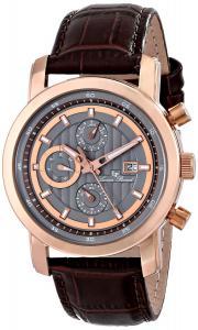 Đồng hồ Lucien Piccard Men's LP-12584-RG-014 Toules Analog Display Japanese Quartz Brown Watch