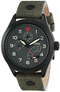 Đồng hồ Fossil Men's CH2941 The Aeroflite Multifunction Leather Watch - Olive