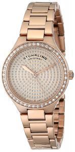 Đồng hồ Stuhrling Original Women's 683.04 Symphony Swiss Quartz Crystal Dial Rosetone Watch