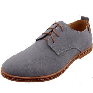 Giày nam DADAWEN Men's Leather Oxford Shoe