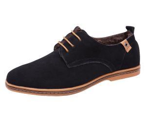 Giày nam iLoveSIA Men's Leather Suede Oxfords Shoe