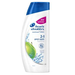 Dầu gội đầu Head & Shoulders Green Apple 2-In-1 Dandruff Shampoo And Conditioner 23.7 Fl Oz (packaging may vary)