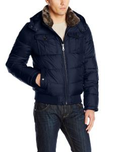 Áo khoác Tommy Hilfiger Men's Nylon Hooded Puffer Bomber Jacket