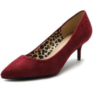 Giày Ollio Women's Shoe Faux-Suede D'Orsay Pointed Toe Multi Color Pump