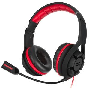 Sentey® Gaming Headset Reverb X Gs-4340sp - Line in Volume Control / Omnidirectional Microphone / Gold Plated 3.5mm Jack (Approximately 9.8 Feet) / Comfortable Foam Pads / Noise Canceling High Definition Stereo Sound / Ergonomic Adaptive Leather Headb