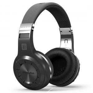 Tai nghe Mactrem Bluedio Turbine Hurricane H+ Black Bluetooth 4.1 Stereo Headphones Wireless Headset