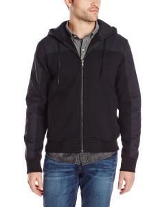 Áo khoác nam True Religion Men's Nylon Fleece Front-Zip Hoodie