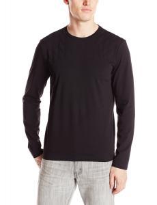 Áo thu đông Calvin Klein Sportswear Men's Solid Quilted Crew Neck Sweatshirt