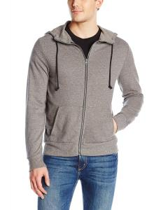 Áo khoác nam Alternative Men's Rocky Mock Neck Front-Zip Hoodie