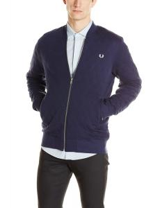 Áo khoác nam Fred Perry Men's Quilted Bomber-Style Sweatshirt