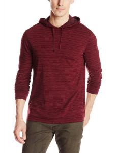 Áo thu đông John Varvatos Men's Pullover Knit Hoody with Raw Cut Edges