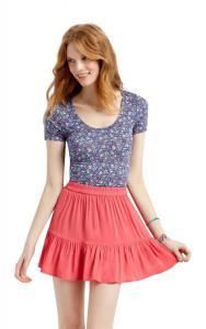Váy Aeropostale Women's Lorimer Solid Ruffle Skirt