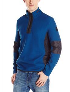 Áo Calvin Klein Sportswear Men's Quarter-Zip Mixed Media Sweatshirt