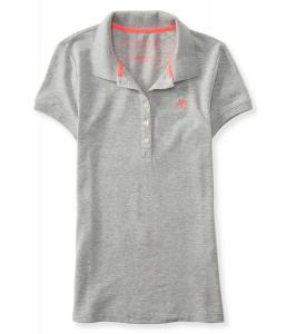 Áo phông Aeropostale Women's A87 Piqué Polo Shirt