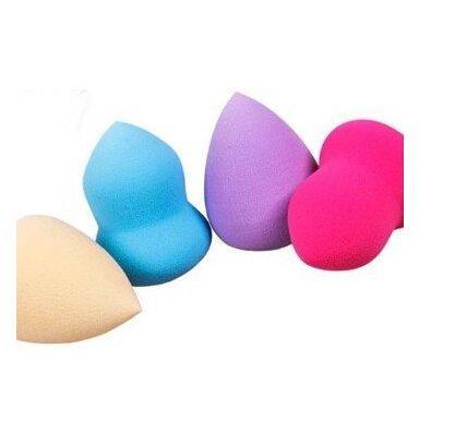 Kem trang điểm 4pc Pro Beauty Flawless Makeup Blender Foundation Puff Multi Shape Sponges(color in radom)