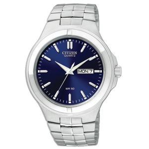 Đồng hồ Citizen Quartz Day Date Blue Dial Men's Watch - BF0590-53L